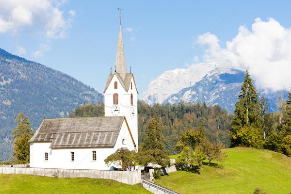 Versam, canton Graubunden, Switzerland Stock photo © phbcz