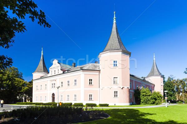 Kasteel Tsjechische Republiek gebouw reizen architectuur Europa Stockfoto © phbcz