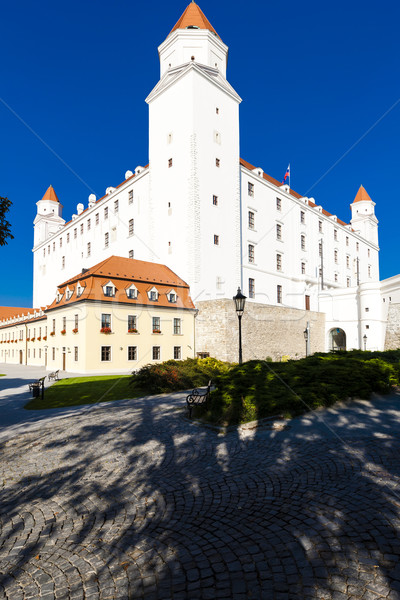 Bratislava château Slovaquie maison bâtiment Voyage Photo stock © phbcz