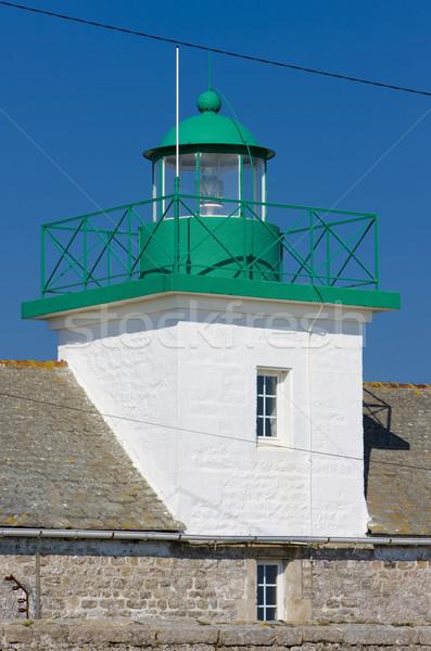lighthouse, Jonville, Normandy, France Stock photo © phbcz