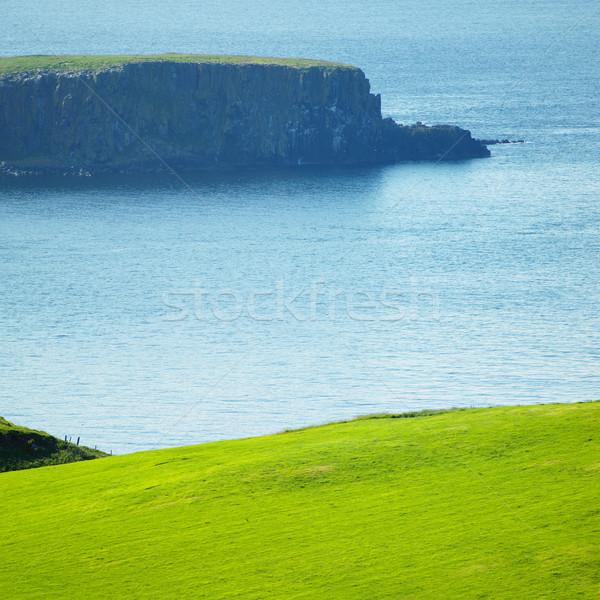 Marina Irlanda mar verde azul Foto stock © phbcz
