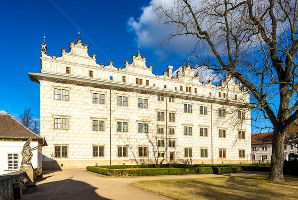 дворец Чешская республика здании архитектура Европа улице Сток-фото © phbcz