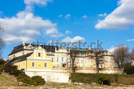 Palais République tchèque bâtiment Voyage architecture Europe Photo stock © phbcz