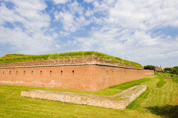 укрепление Польша архитектура Открытый за пределами исторический Сток-фото © phbcz