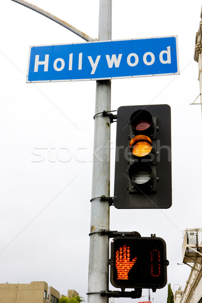 Hollywood Los Angeles California USA Foto d'archivio © phbcz