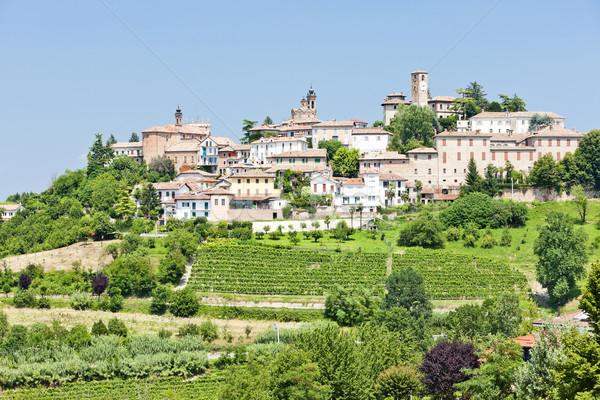 Neive, Piedmont, Italy Stock photo © phbcz