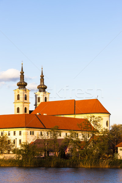 The Basilica of our Lady and monastery, Sastin-Straze, Slovakia Stock photo © phbcz