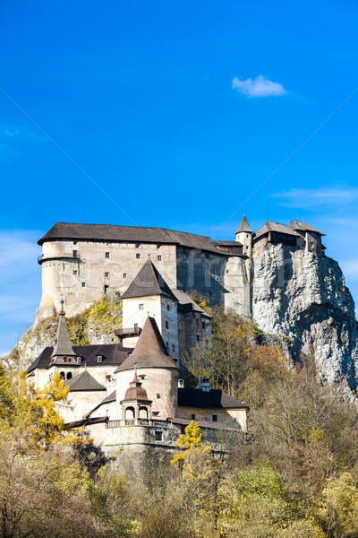 Oravsky Castle, Slovakia Stock photo © phbcz