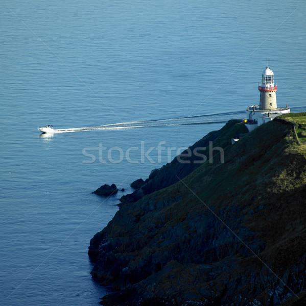 灯台 ダブリン アイルランド 建物 光 海 ストックフォト © phbcz