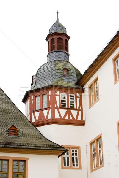 Mosteiro Alemanha edifício arquitetura história ao ar livre Foto stock © phbcz
