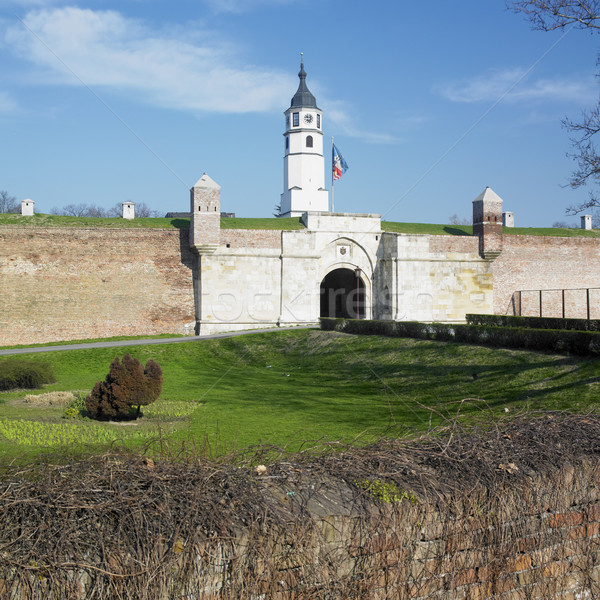 fortress Kalemegdan, Belgrade, Serbia Stock photo © phbcz