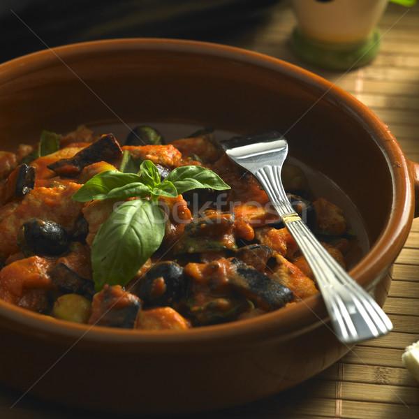 ストックフォト: トルコ · 肉 · 食品 · オリーブ · 料理 · プレート