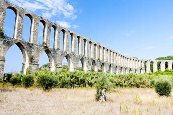 Portugal edifício viajar arquitetura história arco Foto stock © phbcz