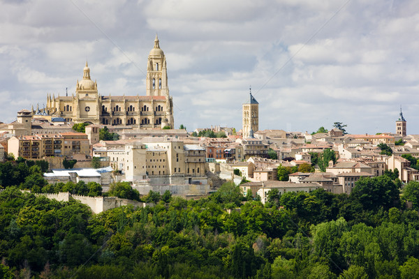 Segovia, Castile and Leon, Spain Stock photo © phbcz