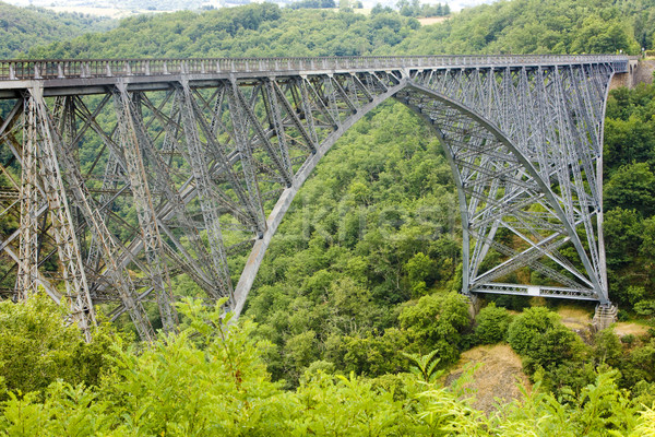 Viaur Viaduct, Aveyron Department, France Stock photo © phbcz