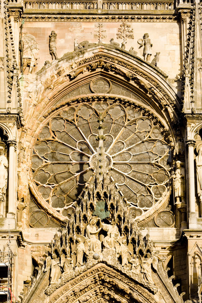 Stok fotoğraf: Katedral · şampanya · Fransa · Bina · sanat