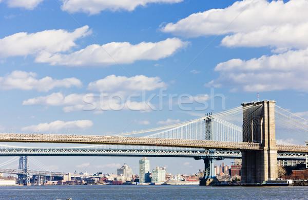 Foto stock: Ponte · manhattan · New · York · City · EUA