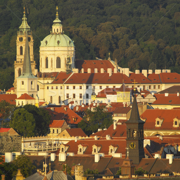 St. Nicholas church, Prague, Czech Republic Stock photo © phbcz