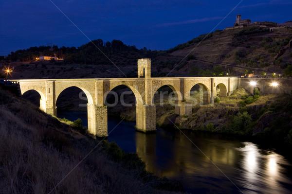 Roman bridge, Alcantara, Caceres Province, Extremadura, Spain Stock photo © phbcz