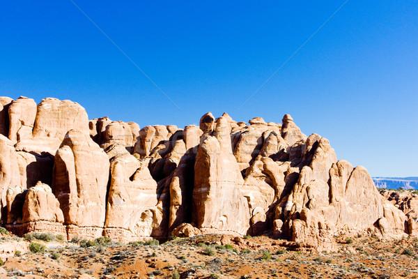 Park Utah USA natuur reizen landschap Stockfoto © phbcz