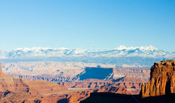 Park Utah USA natuur reizen bergen Stockfoto © phbcz