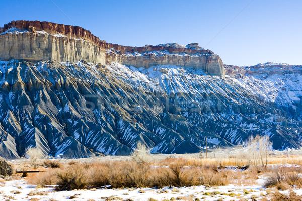 winter landscape of Utah, USA Stock photo © phbcz