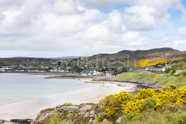 Stock photo: landscape at Loch Gairloch, Highlands, Scotland