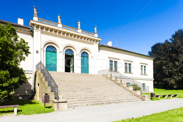 Stockfoto: Peul · paleis · Tsjechische · Republiek · gebouw · reizen · architectuur