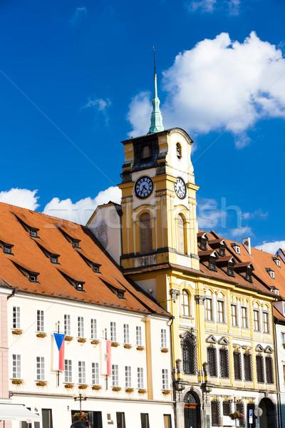 ратуша Чешская республика здании архитектура Европа башни Сток-фото © phbcz