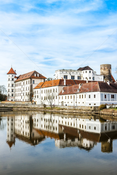 castle and palace of Jindrichuv Hradec, Czech Republic Stock photo © phbcz