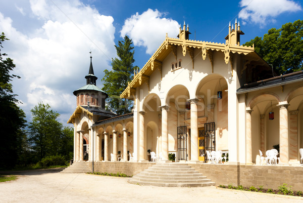 Palace Sychrov - Castle of Arthur, Czech Republic Stock photo © phbcz