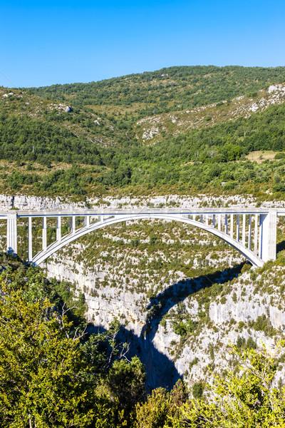 França edifício paisagem arquitetura europa desfiladeiro Foto stock © phbcz
