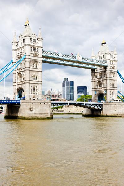 Tower Bridge Londra gran bretagna costruzione città viaggio Foto d'archivio © phbcz