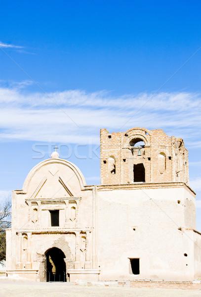 Аризона США Церкви архитектура история миссия Сток-фото © phbcz