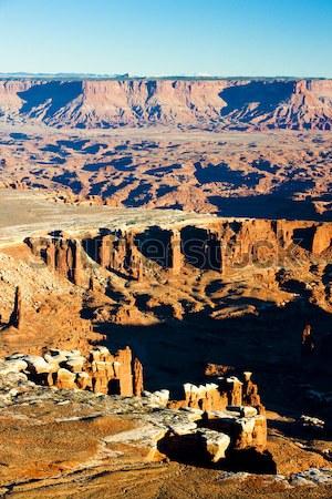 Parku Utah USA krajobraz skał ciszy Zdjęcia stock © phbcz