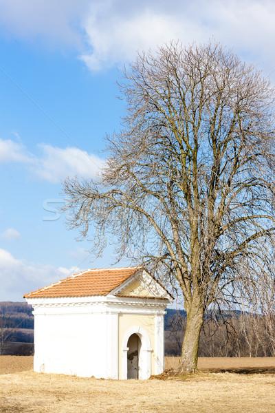 chapel near Kourim, Czech Republic Stock photo © phbcz