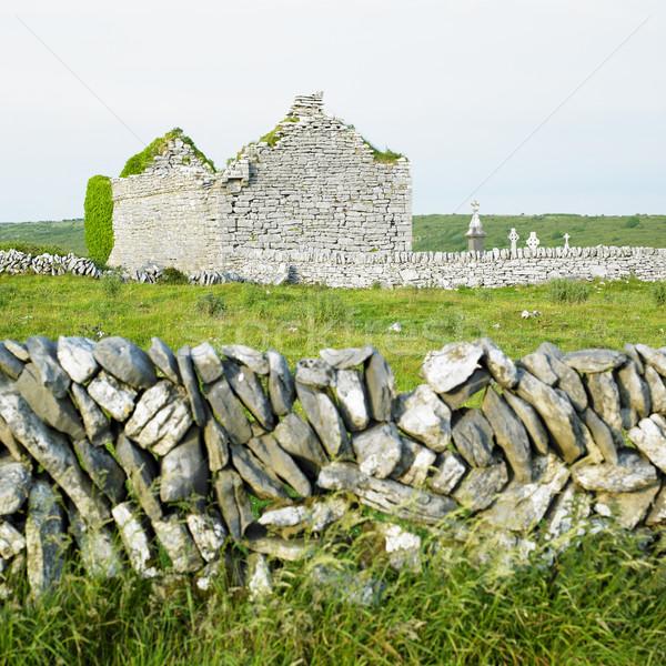 руин Церкви Ирландия здании архитектура история Сток-фото © phbcz