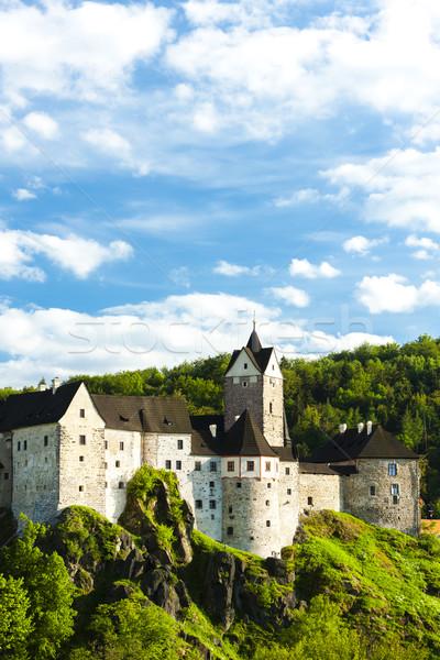 Loket Castle, Czech Republic Stock photo © phbcz