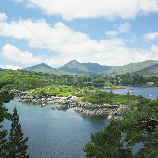 Kurk Ierland water bergen landschappen outdoor Stockfoto © phbcz