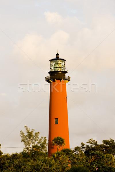 Világítótorony Florida USA épület utazás építészet Stock fotó © phbcz