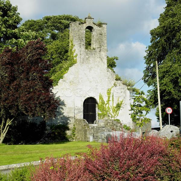 Írország építészet romok szabadtér kint kívül Stock fotó © phbcz
