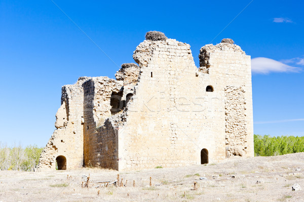 Castle of Villagarcia de Campos, Castile and Leon, Spain Stock photo © phbcz