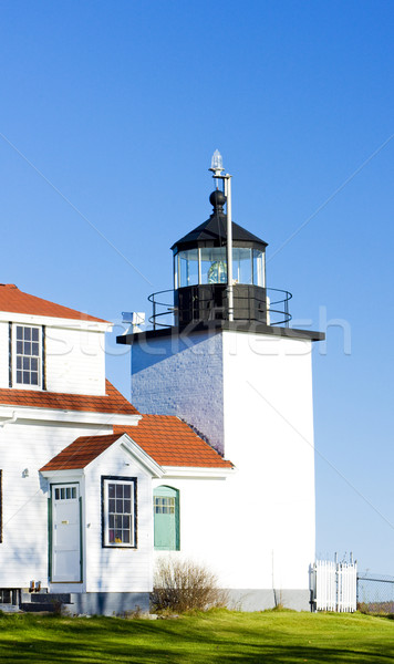 lighthouse Fort Point Light, Stockton Springs, Maine, USA Stock photo © phbcz