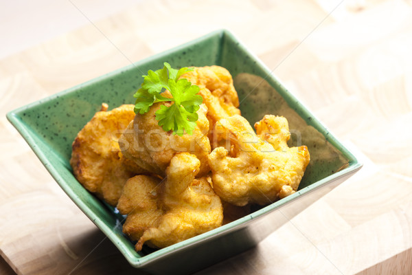fried cauliflower Stock photo © phbcz