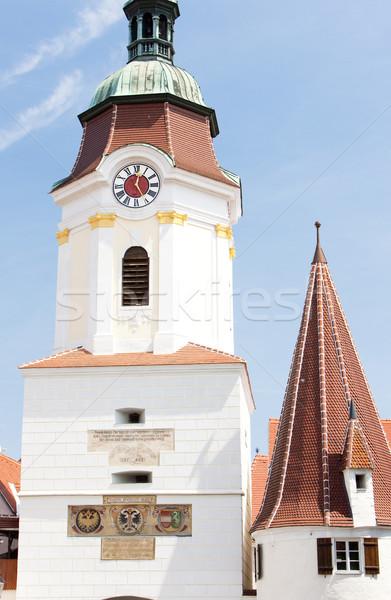 detail of town gate, Krems, Lower Austria, Austria Stock photo © phbcz