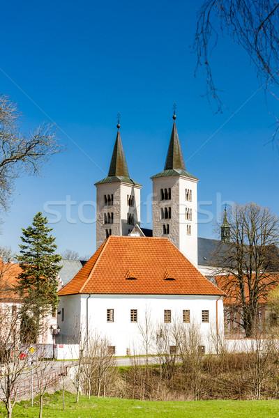 Mosteiro República Checa igreja arquitetura gótico história Foto stock © phbcz