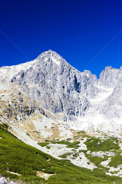 Lomnicky Peak and its surroundings, Vysoke Tatry (High Tatras),  Stock photo © phbcz