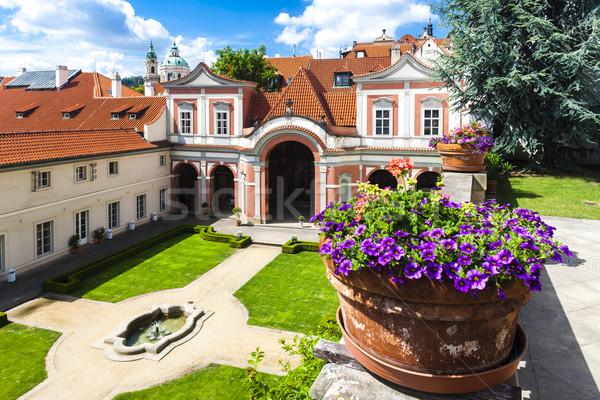 Ledeburska Garden, Prague, Czech Republic Stock photo © phbcz