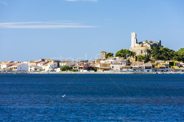 Gruissan, Languedoc-Roussillon, France Stock photo © phbcz