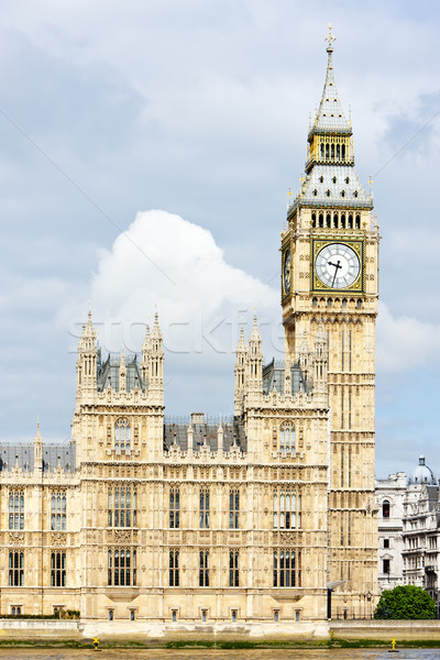 Houses of Parliament and Big Ben, London, Great Britain Stock photo © phbcz